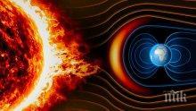 ЗВУЦИТЕ НА КОСМОСА: Ето как слънчева буря връхлита Земята. Чуйте!