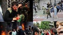 КЪРВАВ БУНТ: Над 100 протестиращи са убити в Иран