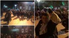Ето как служителите на Прокопиев и Цветан Василев паднаха на колене пред президента Радев (ВИДЕО)