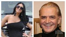 АВТО ТРАМПА: Актьорът Ники Сотиров подкара американския всъдеход на Анита Мейзер (СНИМКИ)