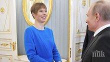 """Президентът на Естония готова да преговаря и с """"най-трудния партньор"""", който е..."""