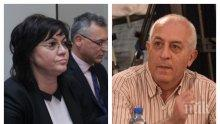 Червеният социолог Юрий Асланов призна: БСП няма шанс на парламентарните избори, ако продължава така! Ръководството се налага грубо и безпардонно