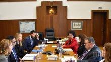 Главният прокурор Сотир Цацаров се срещна с координатор на щатското правителство от Белия дом