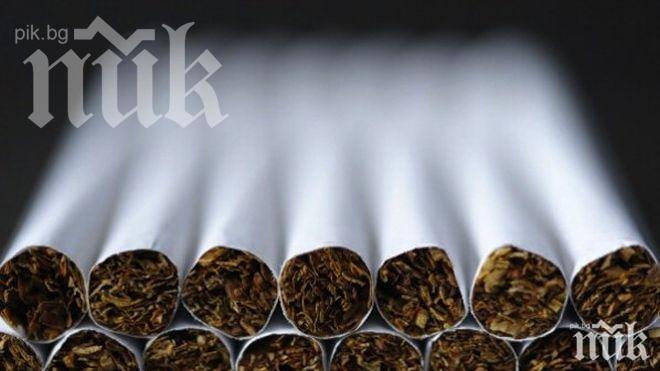 Заловиха тойота, натъпкана с 80 000 къса контрабандни цигари