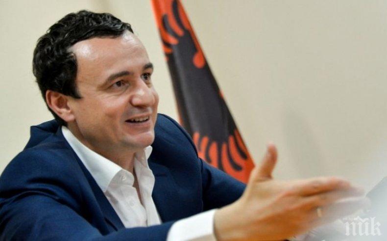 Белград предупреди: Новият премиер на Косово е опасност Европа