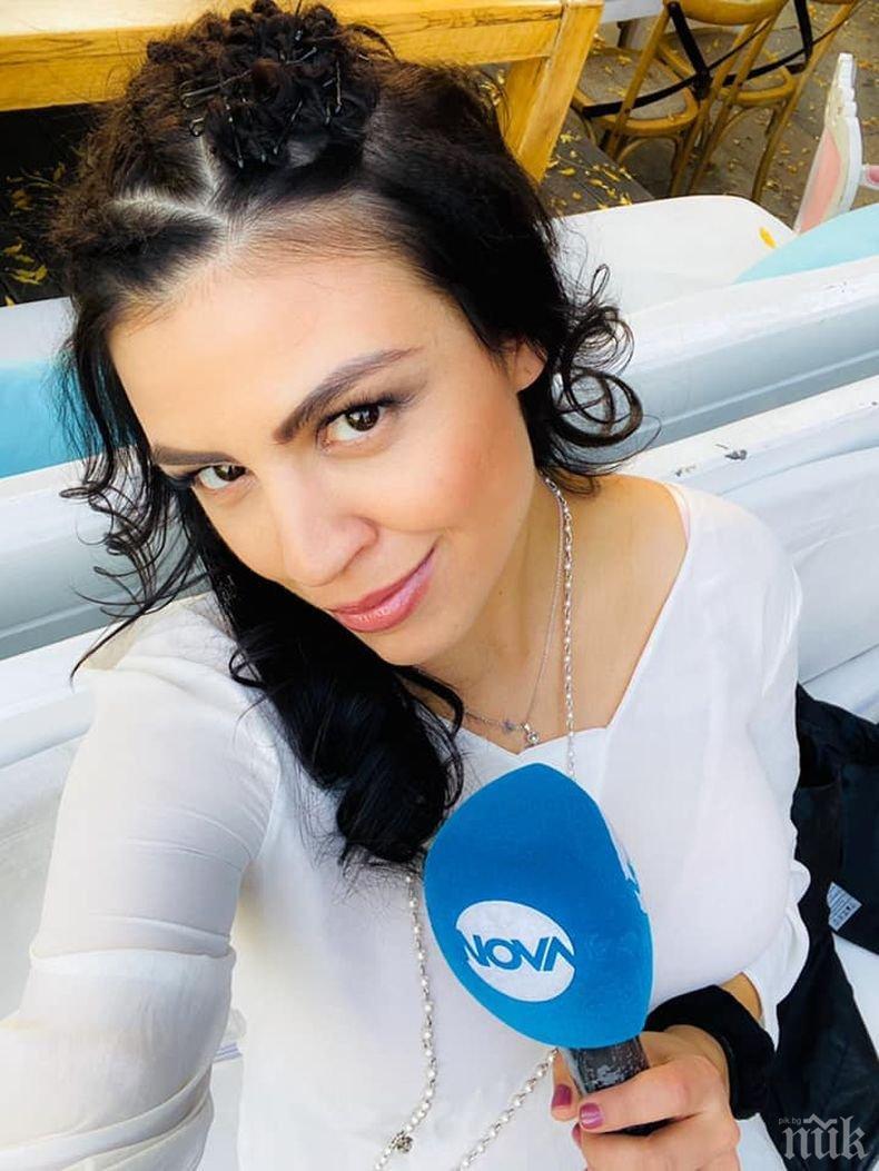 Изловиха Деси Цонева в нарушение - репортерката олекна с 30 лева заради неправилно паркиране