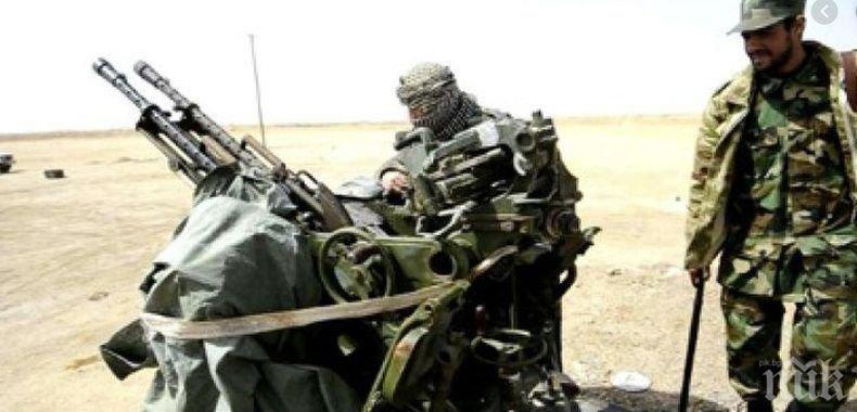 Либийската национална армия е свалила италиански дрон
