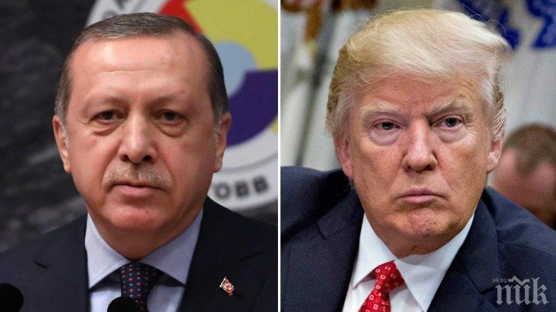 Ердоган казал на Тръмп, че Турция няма да се откаже от системите С-400