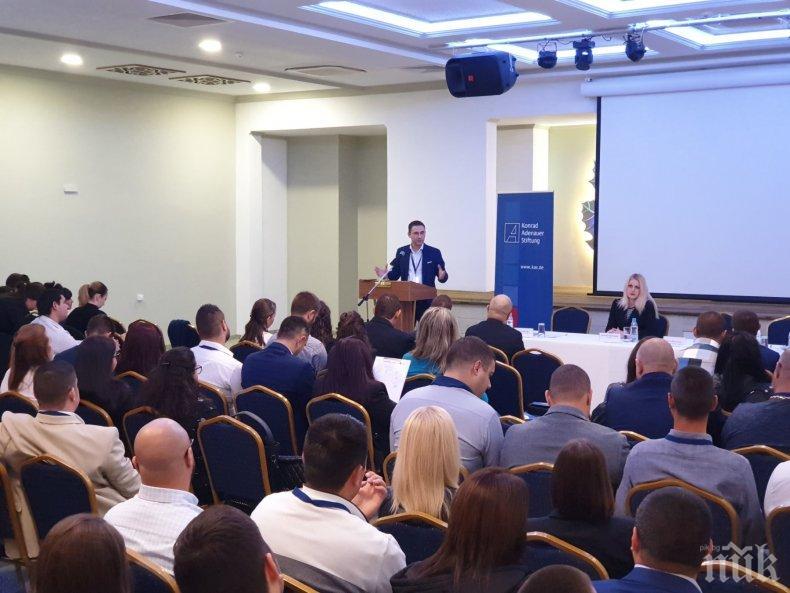 Младежи ГЕРБ в Созопол: За младите няма невъзможни цели, стига да повярват в тях