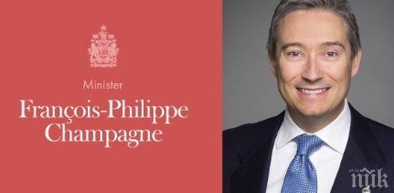 Премиерът на Канада назначи нов външен министър