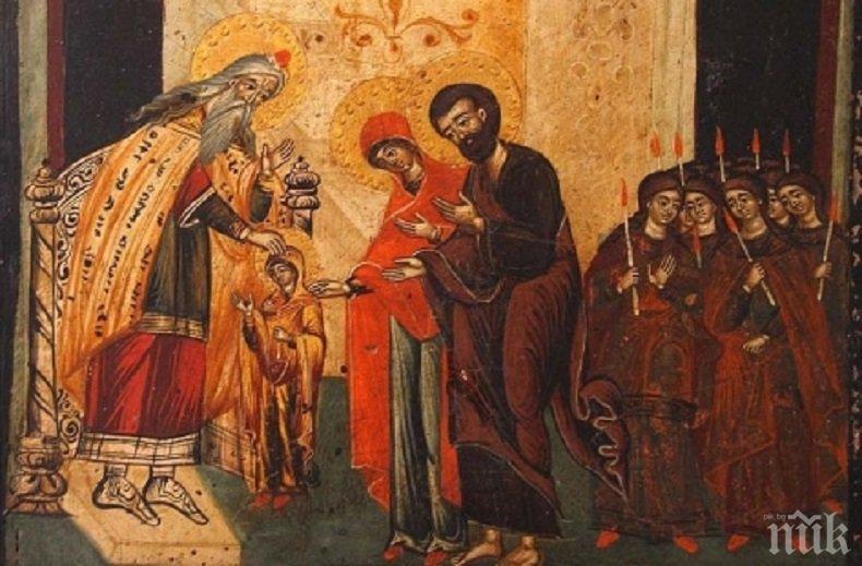 СВЕТЪЛ ДЕН: Днес празнува всяко българско християнско семейство