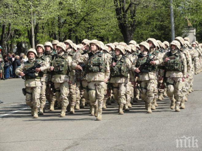 Сухопътните войски честват своя боен празник