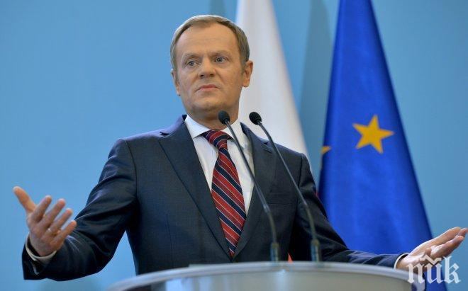 Доналд Туск бе избран за лидер на ЕНП