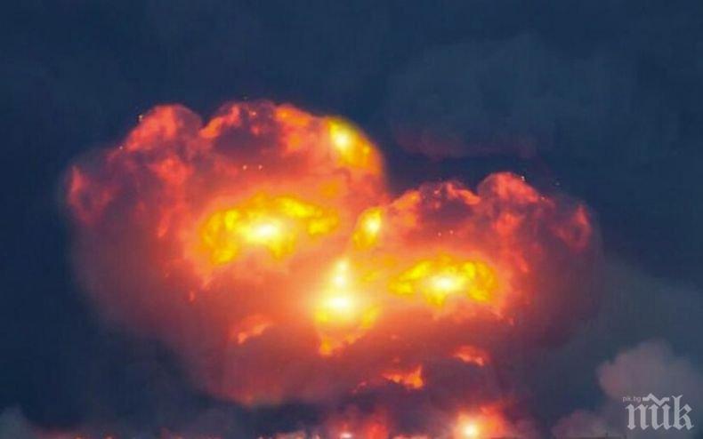 Най-малко три жертви при взрив във фабрика за фойерверки на остров Сицилия