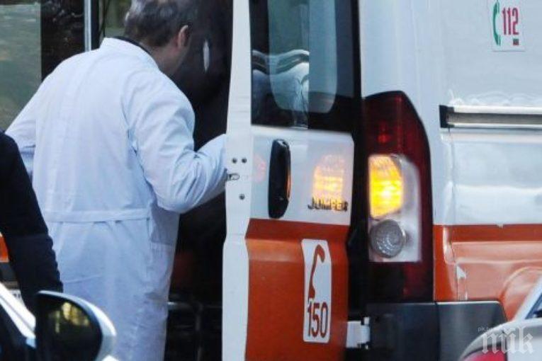 Пациент се метна от 4-тия етаж на бургаска болница (СНИМКА 18+/ОБНОВЕНА)
