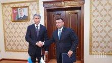 Младен Маринов се срещна с президента на Азербайджан Н. Пр. Илхам Алиев и с вътрешния министър ген.-полк. Вилаят Ейвазов (СНИМКИ)