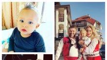 НАСРЕД МЕГДАНА В БАНСКО: Нагиздиха сина на Антония Петрова с носия - ето какво бъдеще си избра най-известното ВИП-бебе по прощъпалника си... (СНИМКИ)
