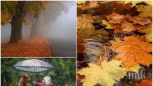 ВРЕМЕТО НЕ СЕ ШЕГУВА: Бръснещ вятър, дъжд и хлад. Ето къде ще вали най-силно (КАРТА)