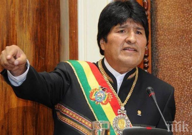 Издадоха заповед за арест на дясната ръка на Ево Моралес