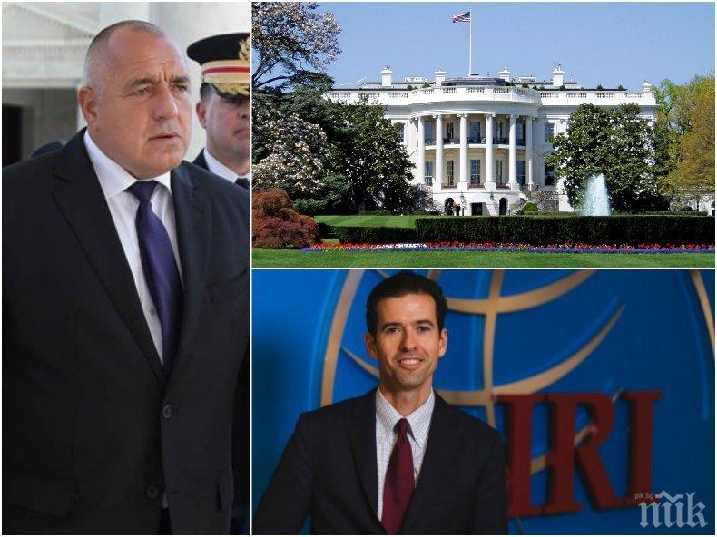 ПЪРВО В ПИК TV! Президентът на Международния републикански институт към Борисов: България е лидер на Балканите (СНИМКИ/ОБНОВЕНА)