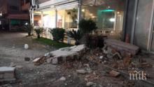 Хотел на седем етажа в Дуръс се срина от земетресението в Албания