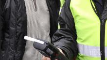 Спипаха рекордно пиян шофьор край Сливен