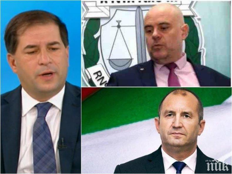 Борислав Цеков поряза Радев за мераците му да променя Конституцията: Никое кресливо и радикално малцинство не може да натрапва своето разбиране за основния закон