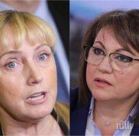 ЧЕРВЕН РАЗКОЛ: Елена Йончева би шута на Корнелия Нинова - евродепутатката се прегърна със Станишев и опозицията на Нинова