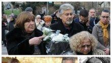 ПОСЛЕДНО СБОГОМ: Погребват Стефан Данаилов до съпругата му Мария - актьорът страдал, че не успял да обиколи света с любимата жена