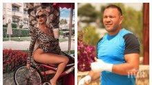 НОВО НАЧАЛО: Андреа и Кобрата заедно в Пловдив - чалга дивата цъфти от щастие до боксьора, настаниха се заедно в местен хотел