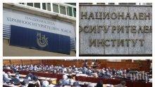 Парламентът прие на второ четене Закона за НЗОК за 2020 г.