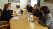 Вицепремиерът Марияна Николова се срещна с посланика на Холандия