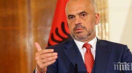 премиерът албания благодари региона помощта