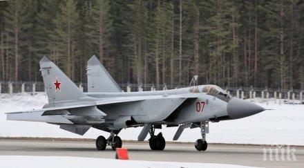 русия изпита арктика новата свръхзвукова ракета кинжал