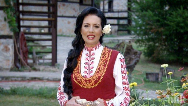 Славка Калчева с изненада за феновете си - записва етно рок парче след рождения си ден