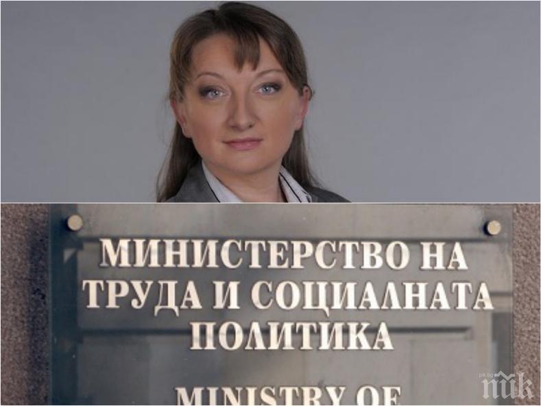 САМО В ПИК: Ето коя е Деница Сачева, която Борисов си избра вместо Бисер Петков за социален министър