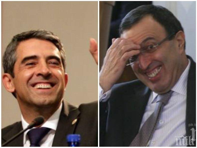 ПЪРВО В ПИК! Вижте как двама български президенти пътуват като непознати към Рим - спътниците им са в шок (СНИМКИ)