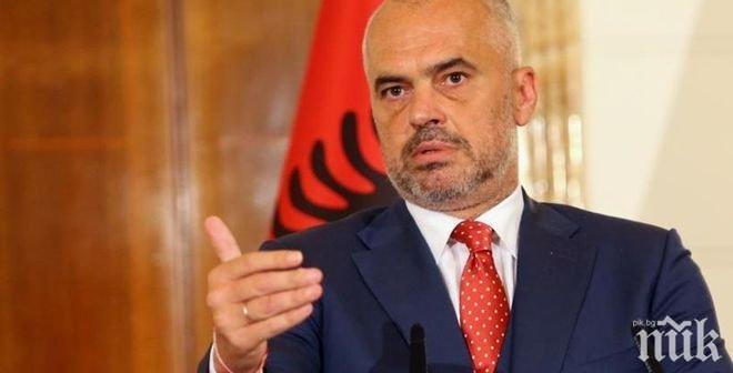 Политически трус в Албания - социалистите на Еди Рама искат отстраняването на президента Илир Мета