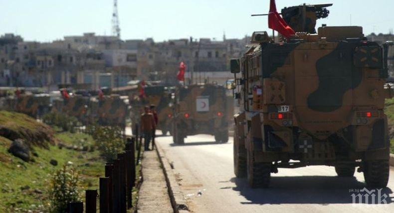 Турски войник е загинал след артилерийски обстрел от сирийските кюрди