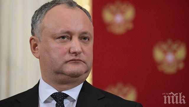 Президентът на Молдова не изключи да се кандидатира за нов мандат