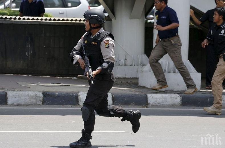 Взрив е избухнал в столицата на Индонезия