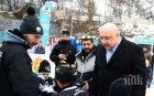 Министър Кралев откри ледена пързалка