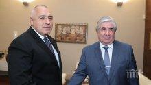 ПЪРВО В ПИК: Премиерът Борисов на четири очи с руския посланик Анатолий Макаров
