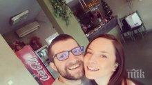 Джулия Бочева и мъжът й работят за бебе в Барселона