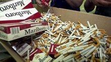 Митничари откриха 16 000 къса цигари в тайник на бус