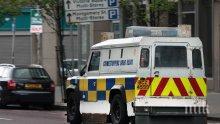 Граната се взриви върху полицейски автомобил в Белфаст