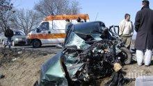 ТРАГЕДИЯ НА ПЪТЯ: Две коли се помляха край Ямбол, има загинал и ранен