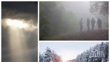 ЗИМНИ КАПРИЗИ: Очаква ни затопляне и дъжд, температурите ще достигнат до 10 градуса