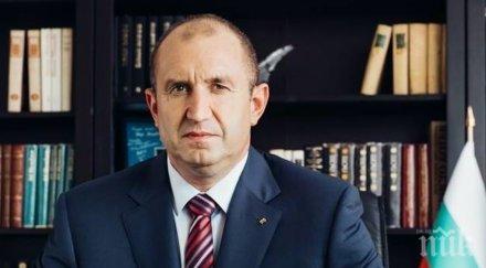 Президентът Румен Радев за Стоянка Мутафова: Дълбок поклон!