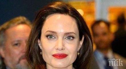 ШОК! Анджелина Джоли се утешава в прегръдките на жена. Ето коя е новата й любовница (СНИМКА)